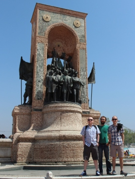 boyz at Taksim Square