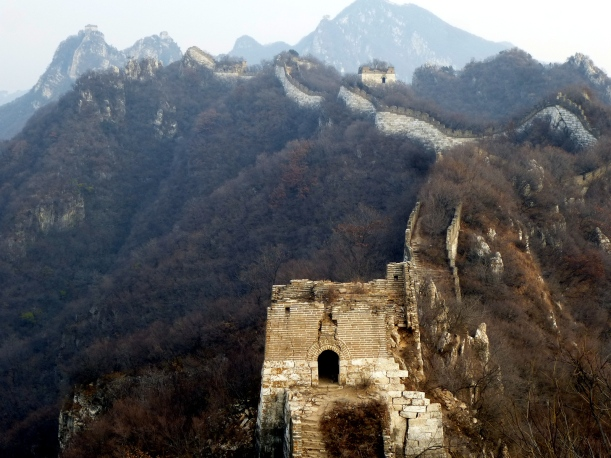 The Great Wall without the crowds! Hiking gear required!